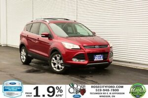 2014 Ford Escape Titanium / CERTIFIED / Accident Free / Backup C