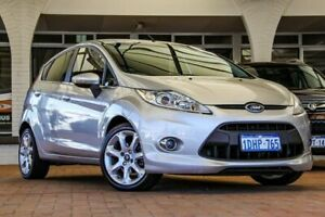 2010 Ford Fiesta WS Zetec Moondust Silver 5 Speed Manual Hatchback Melville Melville Area Preview