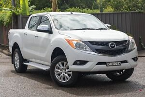 2011 Mazda BT-50 UP0YF1 XTR White 6 Speed Sports Automatic Utility Greenacre Bankstown Area Preview