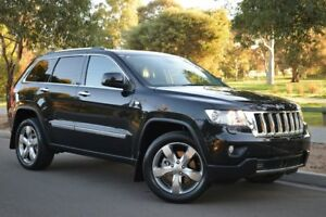 2013 Jeep Grand Cherokee WK MY2013 Overland Black 5 Speed Sports Automatic Wagon St Marys Mitcham Area Preview