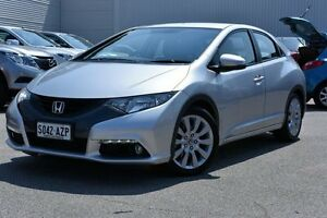2013 Honda Civic 9th Gen MY13 DTI-S Silver 6 Speed Manual Hatchback West Hindmarsh Charles Sturt Area Preview