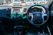2015 Toyota Hilux TGN16R MY14 Workmate Double Cab 4x2 White 4 Speed Automatic Utility Maddington Gosnells Area Preview