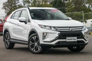 2018 Mitsubishi Eclipse Cross YA MY19 ES 2WD White 8 Speed Constant Variable Wagon Hillcrest Logan Area Preview