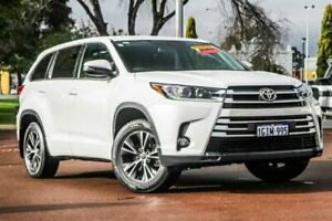 2017 Toyota Kluger GSU55R GX AWD White 8 Speed Sports Automatic Wagon Cannington Canning Area Preview