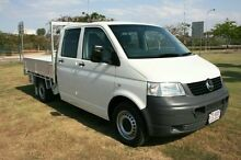 2009 Volkswagen Transporter T5 MY09 White 6 Speed Sports Automatic Cab Chassis Townsville 4810 Townsville City Preview