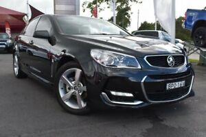 2016 Holden Commodore VF II MY16 SV6 Black Black 6 Speed Sports Automatic Sedan Tuggerah Wyong Area Preview