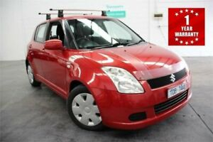 2005 Suzuki Swift RS415 S Red Manual Hatchback Mordialloc Kingston Area Preview