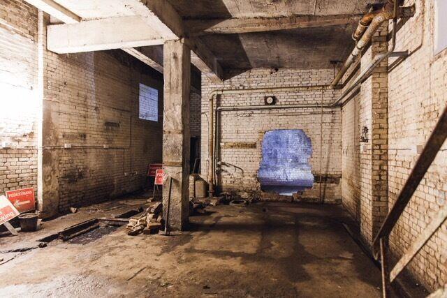 Industrial Warehouse Location Photo Film Studio For