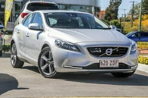 2016 Volvo V40 M Series MY16 D4 Adap Geartronic Luxury Silver 8 Speed Sports Automatic Hatchback Aspley Brisbane North East Preview