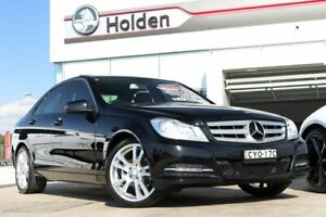 2014 Mercedes-Benz C200 W204 MY14 7G-Tronic + Black 7 Speed Sports Automatic Sedan Liverpool Liverpool Area Preview
