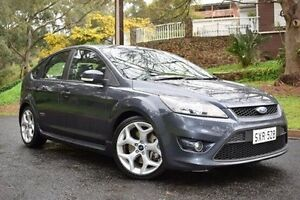 2010 Ford Focus LV XR5 Turbo Grey 6 Speed Manual Hatchback St Marys Mitcham Area Preview