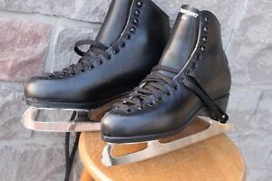 Risport Star Leather Figure Skates Men's Size EU 45 C or US 11 1