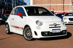 2012 Abarth 500 Series 1 Esseesse MTA White 5 Speed Seq Manual Auto-Clutch Hatchback Fremantle Fremantle Area Preview
