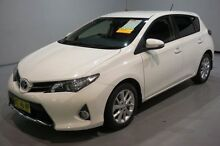 2013 Toyota Corolla ZRE182R Ascent Sport S-CVT White 7 Speed Constant Variable Hatchback Old Guildford Fairfield Area Preview