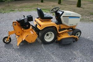 Riding Lawn Mower / Garden Tractor with Rotor Tiller *New Price* Peterborough Peterborough Area image 7