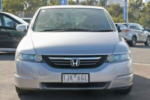 2004 Honda Odyssey 3rd Gen Luxury Silver 5 Speed Sports Automatic Wagon Docklands Melbourne City Preview