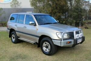 2005 Toyota Landcruiser HDJ100R GXL Gold 5 Speed Automatic Wagon Ormeau Gold Coast North Preview