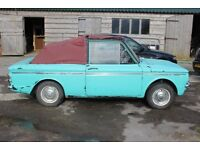 Hillma Imp 1968 car for sale. Converted to soft top. Needs TLC great fun vehicle