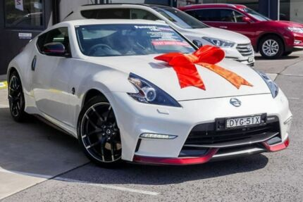 2018 Nissan 370Z Z34 MY18 Nismo White 7 Speed Sports Automatic Coupe Pennant Hills Hornsby Area Preview