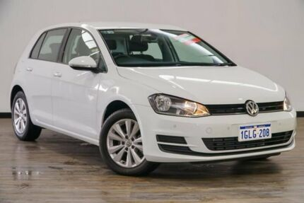 2015 Volkswagen Golf VII MY16 92TSI DSG Comfortline White 7 Speed Sports Automatic Dual Clutch Myaree Melville Area Preview