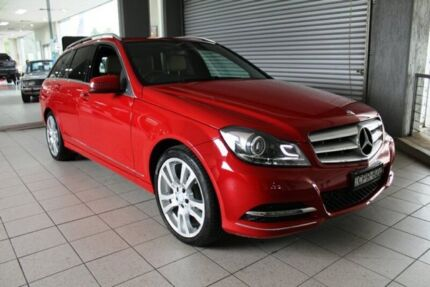 2013 Mercedes-Benz C250 W204 MY13 Avantgarde BE Red 7 Speed Automatic G-Tronic Wagon Thornleigh Hornsby Area Preview