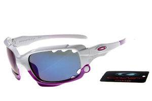 Purple Polarized Oakley Jawbone Sunglasses