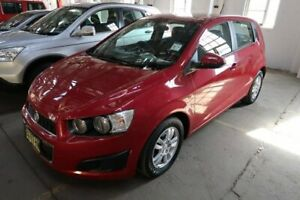 2013 Holden Barina TM MY13 CD Red 5 Speed Manual Hatchback Hamilton North Newcastle Area Preview