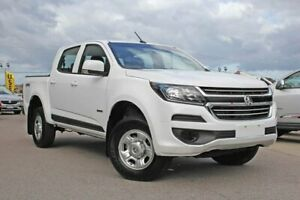 2019 Holden Colorado RG MY20 LS Pickup Crew Cab White 6 Speed Sports Automatic Utility Wangara Wanneroo Area Preview