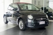2014 Fiat 500C Series 1 Pop Dualogic Black 5 Speed Sports Automatic Single Clutch Convertible Southport Gold Coast City Preview