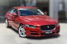 2015 Jaguar XE X760 MY16 20T Prestige Italian Racing Red 8 Speed Sports Automatic Sedan Berwick Casey Area Preview