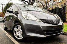 2011 Honda Jazz GE MY11 GLi Grey 5 Speed Automatic Hatchback Medindie Walkerville Area Preview