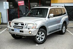 2003 Mitsubishi Pajero NP MY04 Exceed Silver 5 Speed Sports Automatic Wagon