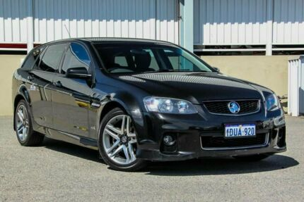 2011 Holden Commodore VE II SV6 Black 6 Speed Automatic ...