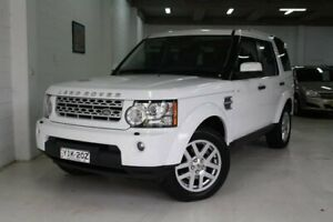 2011 Land Rover Discovery 4 Series 4 MY11 TdV6 CommandShift White 6 Speed Sports Automatic Wagon Castle Hill The Hills District Preview