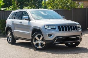 2015 Jeep Grand Cherokee WK MY15 Limited Silver 8 Speed Sports Automatic Wagon Greenacre Bankstown Area Preview