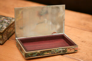 Mexican Silver Mother of Pearl boxes Peterborough Peterborough Area image 4