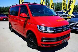 2018 Volkswagen Multivan T6 MY18 TDI340 SWB DSG Comfortline Red 7 Speed Sports Automatic Dual Clutch