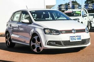 2013 Volkswagen Polo 6R MY13.5 GTI DSG White 7 Speed Sports Automatic Dual Clutch Hatchback Rockingham Rockingham Area Preview