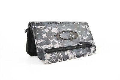 Oakley Flight Deck 3.0 Travel Wallet Black Tiger Camo 95040-001