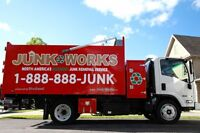 Full Service Junk Removal - JUNK WORKS -  1 888 888 JUNK (5865)