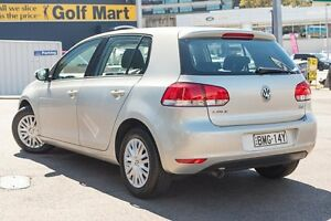 2009 Volkswagen Golf VI MY10 77TDI DSG Trendline Silver 7 Speed Sports Automatic Dual Clutch Brookvale Manly Area Preview