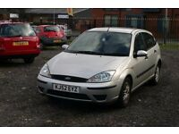 Ford Focus 1.6 (Cheap car with MOT for everyday use)