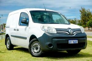 2014 Renault Kangoo F61 Phase II White 4 Speed Automatic Van Clarkson Wanneroo Area Preview