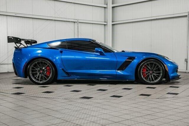 2016 Blue Chevrolet Corvette Z06  | C7 Corvette Photo 8