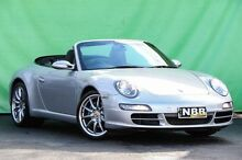 2008 Porsche 911 997 Carrera Silver 5 Speed Tiptronic Cabriolet Ringwood East Maroondah Area Preview