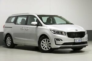 2018 Kia Carnival YP MY18 S Silky Silver 6 Speed Automatic Wagon Bentley Canning Area Preview