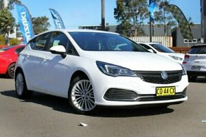 2017 Holden Astra BK MY18 R White 6 Speed Sports Automatic Hatchback Condell Park Bankstown Area Preview