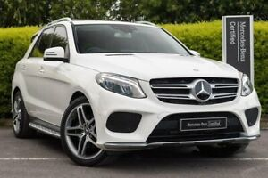 2015 Mercedes-Benz GLE-Class W166 GLE250 d 9G-Tronic 4MATIC White 9 Speed Sports Automatic Wagon Narre Warren Casey Area Preview