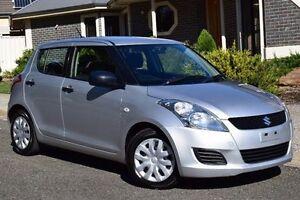 2013 Suzuki Swift FZ GA Silver 4 Speed Automatic Hatchback St Marys Mitcham Area Preview