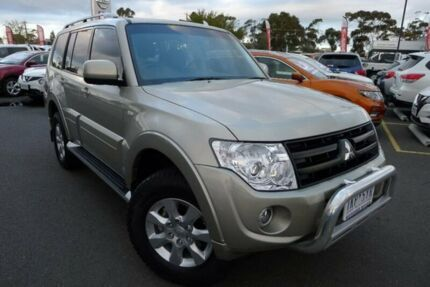 2013 Mitsubishi Pajero NW MY13 GLX-R Gold 5 Speed Sports Automatic Wagon Hoppers Crossing Wyndham Area Preview